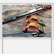 1939 Sniper Rifle Yard Sign