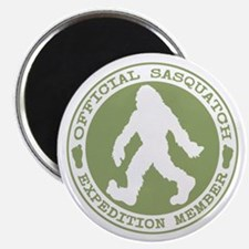 Official Sasquatch Member Magnets