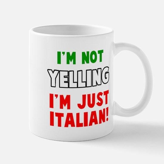 Yell Italian Mugs