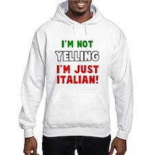 Yell Italian Hoodie