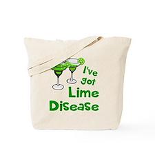 Lime Disease Tote Bag