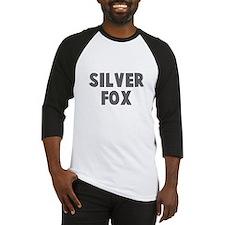 silver fox Baseball Jersey