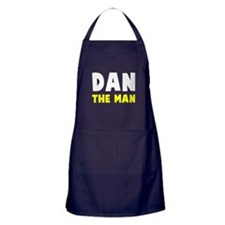 Dan the man Apron (dark)