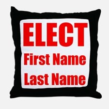 Elect Throw Pillow