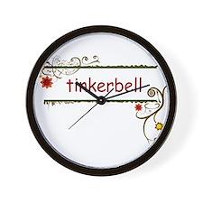 Tinkerbell Wall Clock