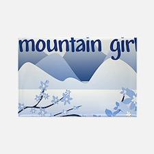 Mountain Girl Rectangle Magnet