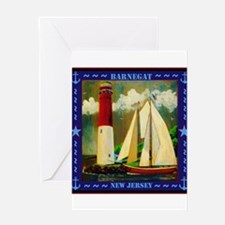 Barnegat Lighthouse Greeting Cards