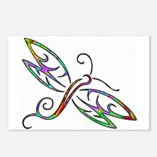 Colorful dragonfly Postcards (Package of 8)