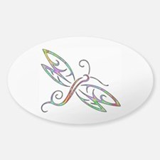 Colorful dragonfly Decal