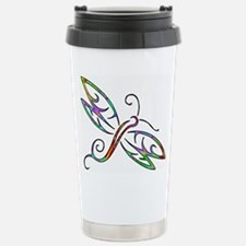 Colorful dragonfly Travel Mug
