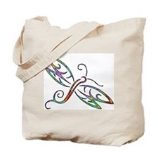 Colorful dragonfly Tote Bag