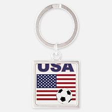 USA soccer Keychains