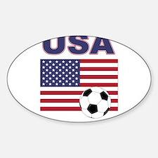 USA soccer Decal