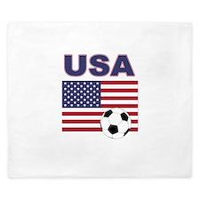 USA soccer King Duvet