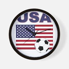 USA soccer Wall Clock