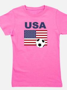 USA soccer Girl's Tee