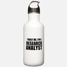 Trust Me, I'm A Research Analyst Water Bottle