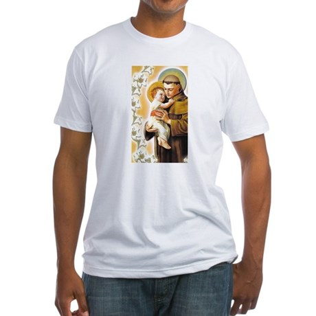 St. Anthony Fitted T-Shirt