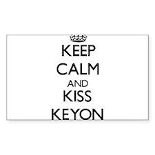 Keep Calm and Kiss Keyon Decal