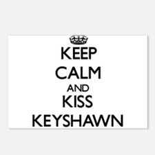 Keep Calm and Kiss Keyshawn Postcards (Package of