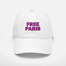 Free Paris Baseball Baseball Cap