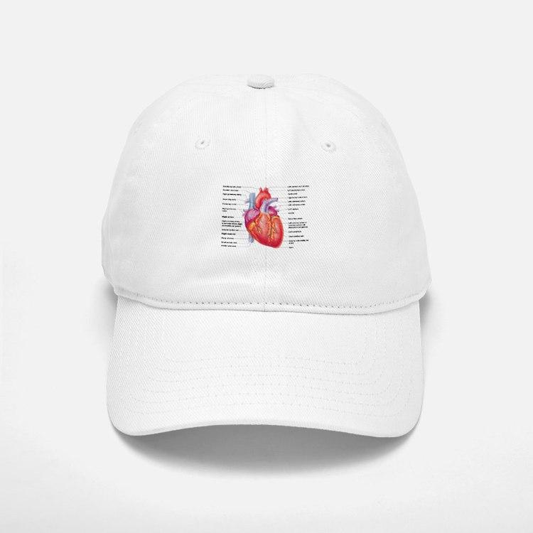 Human Heart Baseball Baseball Baseball Cap