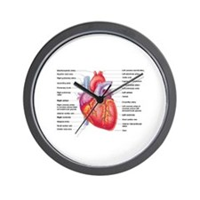 Human Heart Wall Clock