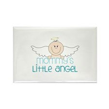 Mommys Little Angel Magnets