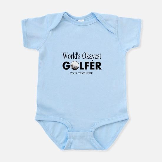 Worlds Okayest Golfer | Funny Golf Body Suit