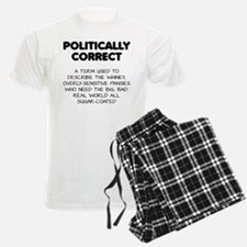 Politically Correct Pansies pajamas