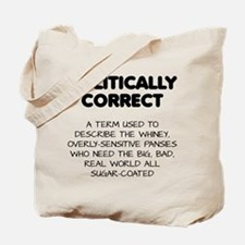 Politically Correct Pansies Tote Bag