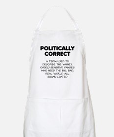Politically Correct Pansies Apron