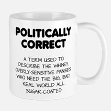 Politically Correct Pansies Mugs
