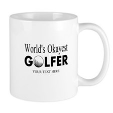 Worlds Okayest Golfer | Funny Golf Mugs