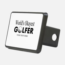 Worlds Okayest Golfer | Funny Golf Hitch Cover