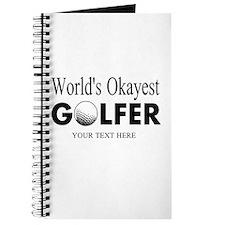 Worlds Okayest Golfer | Funny Golf Journal
