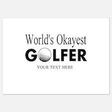 Worlds Okayest Golfer | Funny Golf Invitations