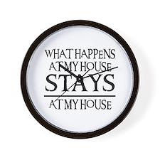 MY HOUSE Wall Clock