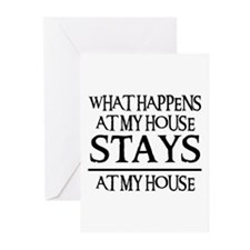 MY HOUSE Greeting Cards (Pk of 10)