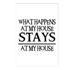 MY HOUSE Postcards (Package of 8)