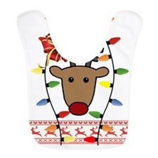 Ugly Christmas Sweater Bib