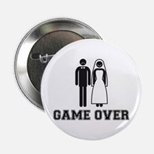 "wedding couple game over 2.25"" Button"