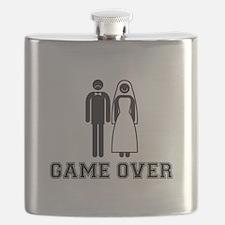 wedding couple game over Flask