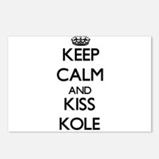Keep Calm and Kiss Kole Postcards (Package of 8)