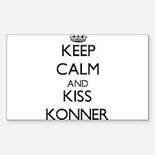 Keep Calm and Kiss Konner Decal