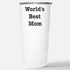 Funny Worlds best mom Travel Mug