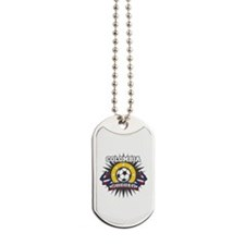 Colombia Soccer Dog Tags