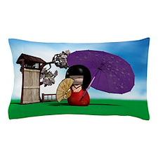 Kokeshi Doll Pillow Case