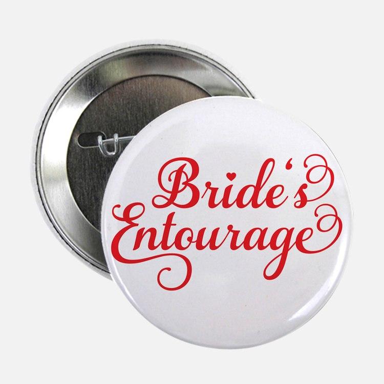 """Brides Entourage 2.25"""" Button"""