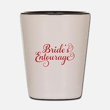 Brides Entourage Shot Glass